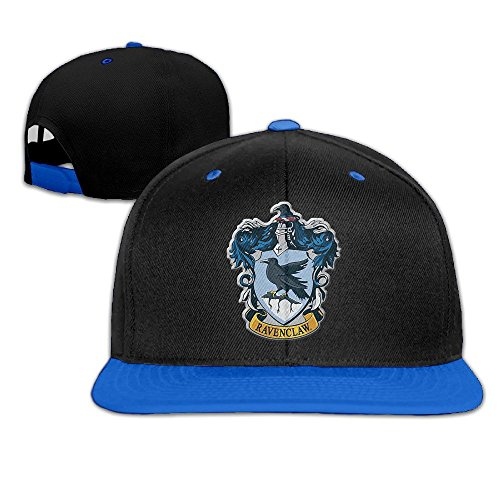 Hittings Harry Potter Ravenclaw Snapback Adjustable Hip Hop Baseball Cap/Hat For Unisex Royal Blue