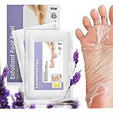 YFM Lavanda Exfoliante Máscara de pie 2 pares, Quitar los callos del pie , Eliminar la piel muerta foot peeling mask