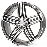 "MAM 11 Titan Grey Front Polish Felge 8,5x20 ET30 5x112 AUDI VW Mercedes 20"" NEU"