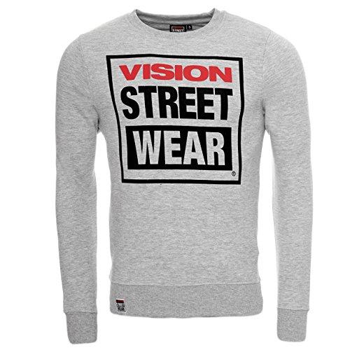 Vision Street Wear Pullover Hoody Jogginghose Kapuzen Sweatshirt Trainingshose Pullover CM0247