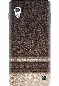 Noise Designer Printed Case / Cover for InFocus M370 / Patterns & Ethnic / Leather Design (GD-53)