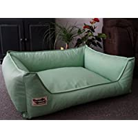 Hundebettenmanufaktur Acceso Dog Bed/Sofa Artificial Leather Various Colours and Sizes XS to XXL (Pet Supplies)