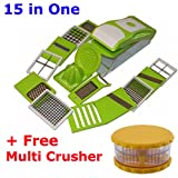 15 in One Chopper Plastic Vegitable Slicer, Grater and Dicer