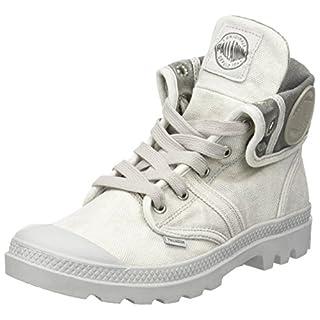 Palladium Damen Us Baggy W F Hohe Sneaker,Grau (Vapor/ Metal), 38