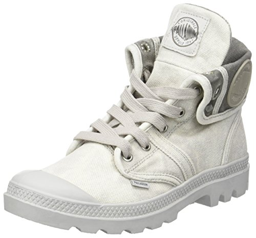 detailed look 13759 cc297 Palladium Us Baggy W, Sneakers Hautes femme, Gris (869 Vapor Metal)