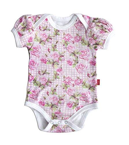 Babybody, Rosendesign, 12-18 Monate, 86/92