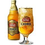 Stella Artois Cidre verres à pinte Rekordelig Cider 568 ml-Lot de 4 verres Stella Cidre, verres Stella Artois en forme de calice en Verre à Cidre verres Stella Artois de Cidre