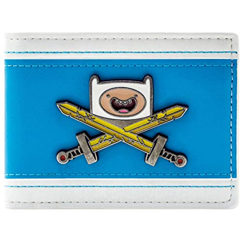 Cartoon Network Adventure Time Finn's Schwert Blau Portemonnaie - Adventure Time Finn Kind Kostüm