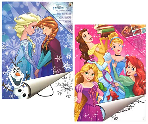 2X Disney Malblock & Sticker Set Din A 4 -