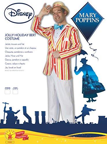 Imagen de rubie 's–disfraz de oficial de disney bert jolly holiday mary poppins, para adulto–xl alternativa