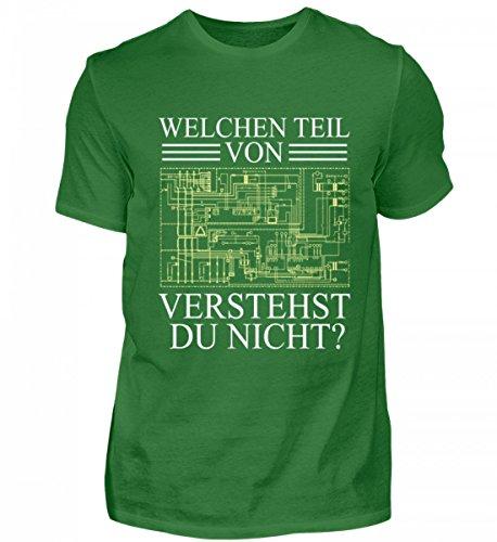 EBENBLATT Hochwertiges Herren Shirt - Welchen Teil von (Schaltplan/Layout/Board) verstehst Du Nicht? Elektroniker Geschenk
