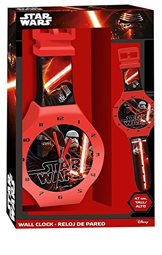 STAR WARS Reloj Pared Kids SWE70234