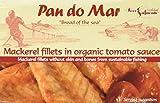 Pan do Mar Makrelenfilets in Bio Tomatensoße, 120 g