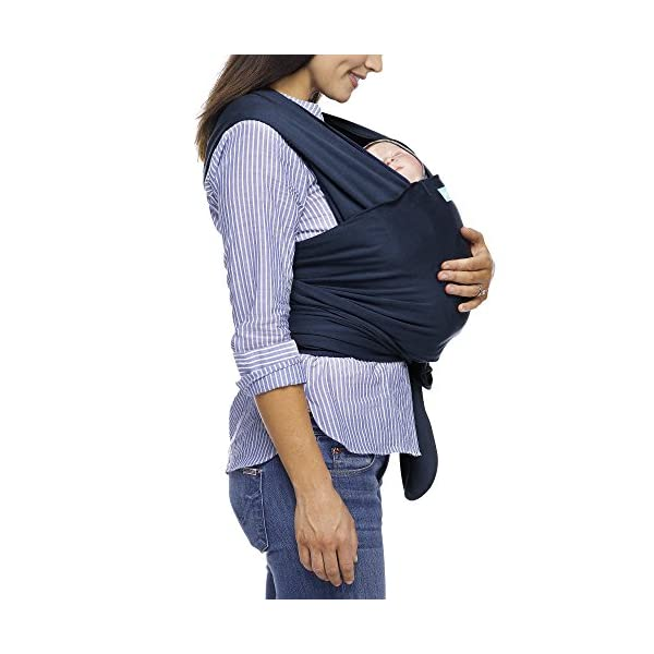MOBY Classic Baby Wrap Carrier for Newborn to Toddler up to 33lbs, Baby Sling from Birth, One Size Fits All, Breathable Stretchy made from 100% Cotton, Unisex Moby One size fits all Encourages parent/child bonding Ideal for all climates and seasons 3