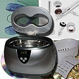 Ultraschallreiniger Ultraschallgerät Schmuck Brillen Gold Silber Besteck Ringe Reinigung US1