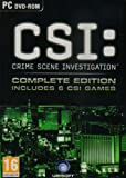 Crime Scene Investigation Complete Edition includes 6 CSI Games (PC)