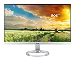 """Acer H257HU 25"""" Wide Quad HD IPS Argent écran plat de PC - Écrans plats de PC (63,5 cm (25""""), 2560 x 1440 pixels, LED, 4 ms, 350 cd/m², Argent)"""