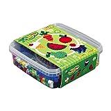 Hama 8740 - Original Bügelperlen - Maxi Perlen Box, ca. 600 Perlen und Zubehör
