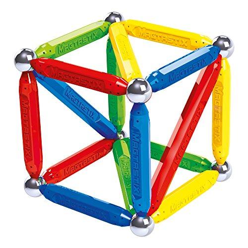 Puzzle magnético de geometría e Imanes. 60 piezas