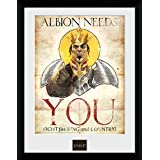 GB eye 16 x 12-Inch Fable, Albion Needs You Framed Photograph by GB Eye Limited