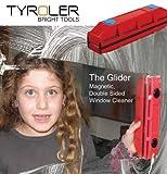 The Glider D per finestra seconda pulitore per finestra per finestre magnetico con doppio vetro, fino a 20mm spessore. immagine