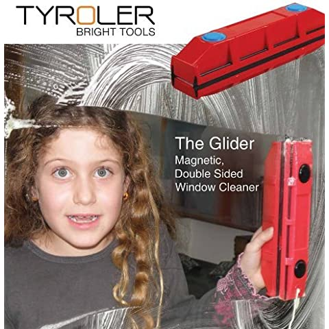 La ventana de Glider D-2, magnético, limpiador para doble Glazed Windows, Con hasta 20mm de