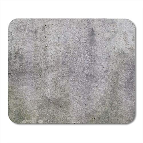 Deglogse Gaming-Mauspad-Matte, Architecture Gray Beton Raw Concrete Wall Useful As Cement Brut Mouse Pad
