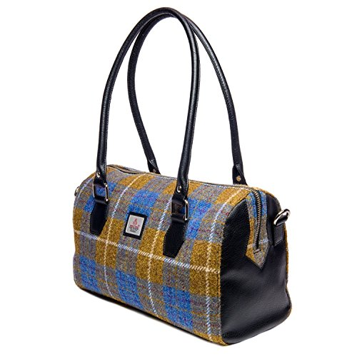Harris Tweed Ladies Bowling Bag (Autumn Brown)