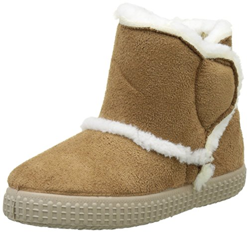 ChipieJug - Stivali da Neve Bambina , marrone (Marrone (Cammello )), 32 EU