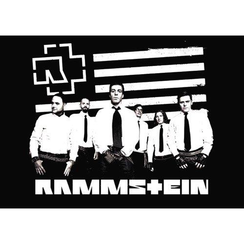 Rammstein - Poster Logo & Stripes (in 59,4 cm x 84,10 cm)