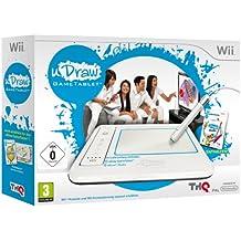 THQ uDraw Gametablet \\+ uDraw Studio - Volante/mando (Wii, Analogico, Con cables, uDraw Studio, Blanco) White