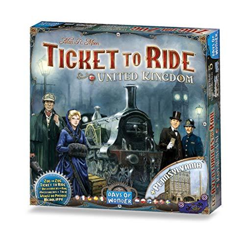 Asterion 8505 - Ticket to Ride: United Kingdom, Multicolore