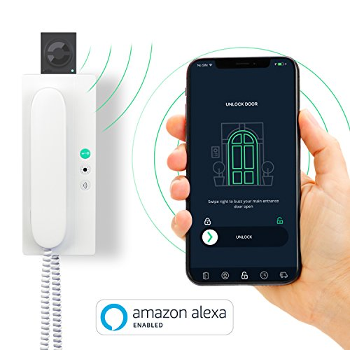 nello one - Smart Door Opener - WiFi Upgrade for Your intercom - Ideal add-on for Smart Locks - for iPhone and Android - with Amazon Alexa Skill