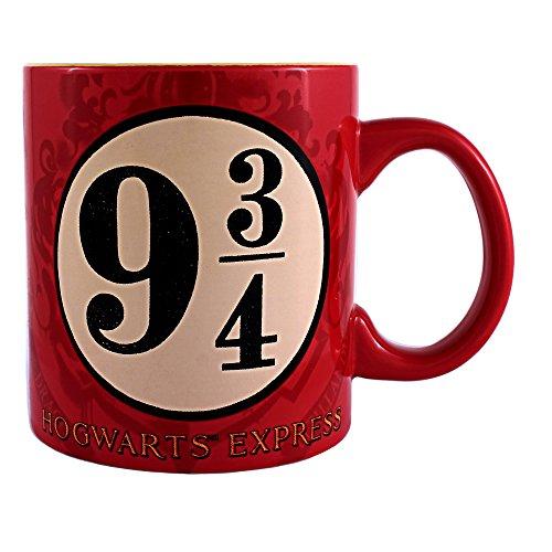 Silver Buffalo unisex-adult Hogwarts Express Jumbo Ceramic 20oz Mug Standard by Silver Buffalo (Ceramic Mug Jumbo)
