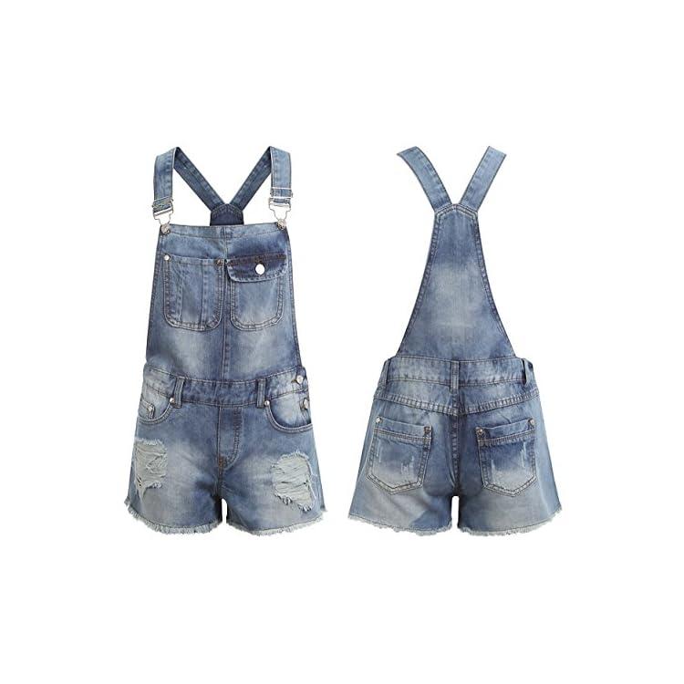 Juicy Trendz Womens Denim Jeans Dungaree Ladies Jumpsuit Playsuit Girl Pinafore