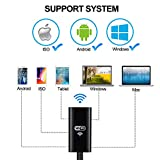 Endoskop, 8 LED 8.0MM Flexibel Wasserdichte Halbsteif Kabelloses WiFi Endoskope Kamera, endoskop iphone 7/6s/6 2.0 Megapixel HD Handy Inspektionskamera für Android, IOS System 5M