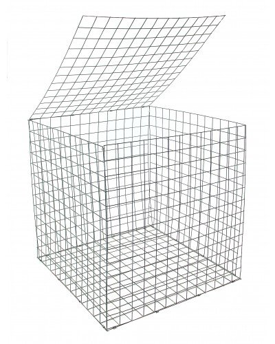 Gabion Basket 0.55 X 0.55 X 0.55m Galfan Coated Welded for sale  Delivered anywhere in Ireland