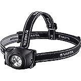 Varta 5x 5mm LED Indestructible Head Light inkl. 3x High Energy AAA Batterien Taschenlampe Flashlight Stirnlampe Kopfleuchte extrem robustes (Falltest 9m) und spritzwassergeschütztes (IPX4) Gehäuse