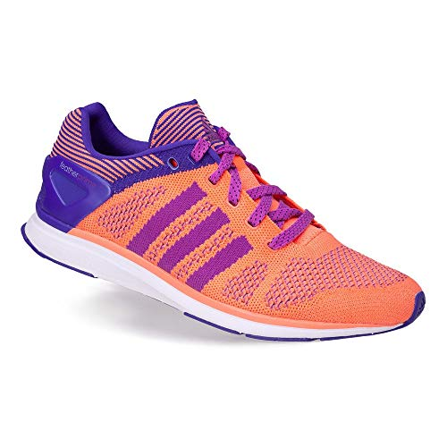 pretty nice 7e6db 93e4b adidas Zapatillas de Running Adizero Feather Prime Woman NaranjaLila EU 37  13