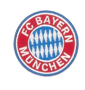 Aufnäher Bügelbild bayern munchen FC Embroidered Iron on