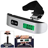 Kairos AirplaneLS(EL10) Luggage Travel Weighing Scales 50kg Portable Handheld Electronic Digital LCD, Battery Included