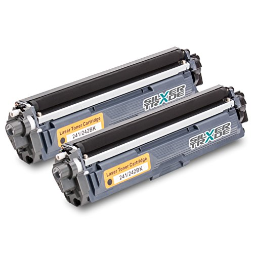 Preisvergleich Produktbild 2x Toner kompatibel zu Brother TN242 BK 2x schwarz je Toner 2.500 Seiten für Brother DCP-9015 CDW, 9017 CDW, 9022 CDW / HL-3142 CW, 3152 CDW, 3172 CDW / MFC-9142 CDN, 9332 CDW, 9342 CDW