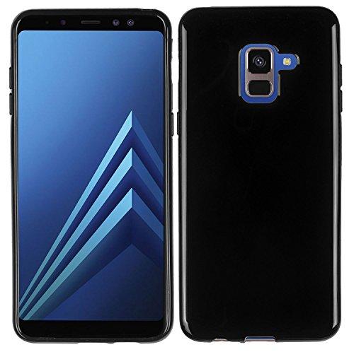 yayago TPU Schutzhülle für Samsung Galaxy A8 2018 / A8 2018 Duos Hülle Schwarz