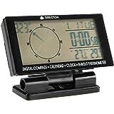 lovelifeast Auto Guía de viaje de Nueva in/out coche brújula electrónica digital con reloj termómetro calendario