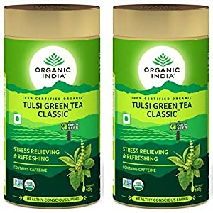 Organic-India-Tulsi-Green-Tea-100g-Tin-Pack-of-2