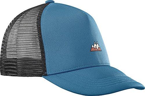 Salomon Herren Mesh-Kappe, SUMMER LOGO CAP, Einheitsgröße, Verstellbar, Blau, L40046400