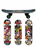 #3: Kids Skateboard 42 cm Funky Cool Skate for Children Double side Design