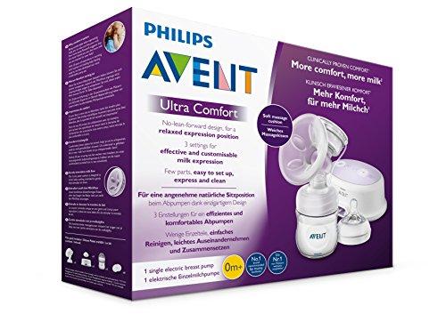 Philips Avent SCF332/31 Elektrische Komfort-Einzelmilchpumpe, weiß - 9