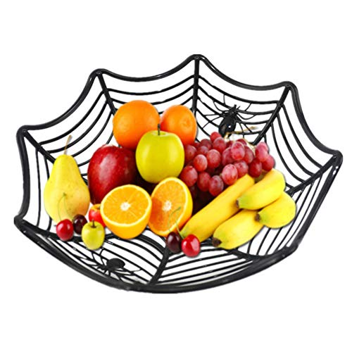Candy Teller Spider Web Kunststoff Spider Web Korb -