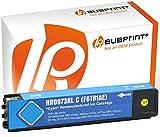 Bubprint Druckerpatrone kompatibel für HP 973X XL HP973X F6T81AE für PageWide Pro 452DN 452DW 452DWT 477DN 477DW 477DWT 552DW 577DW 577Z Cyan/Blau